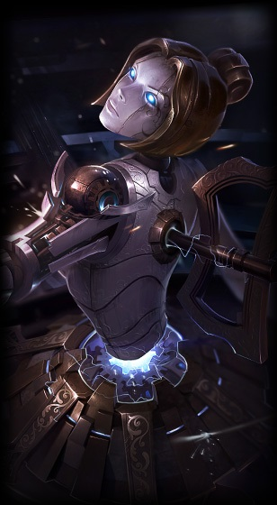 Orianna New Loading Orianna Splash Art