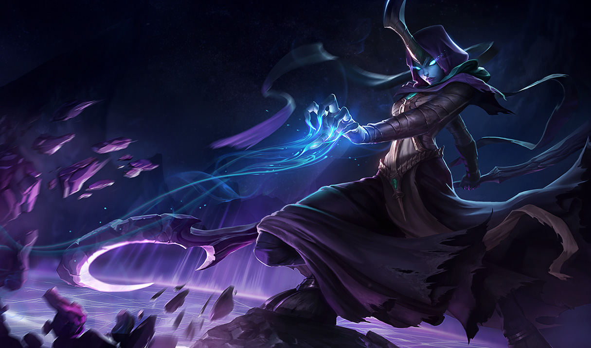 Reaper Soraka Splash Art